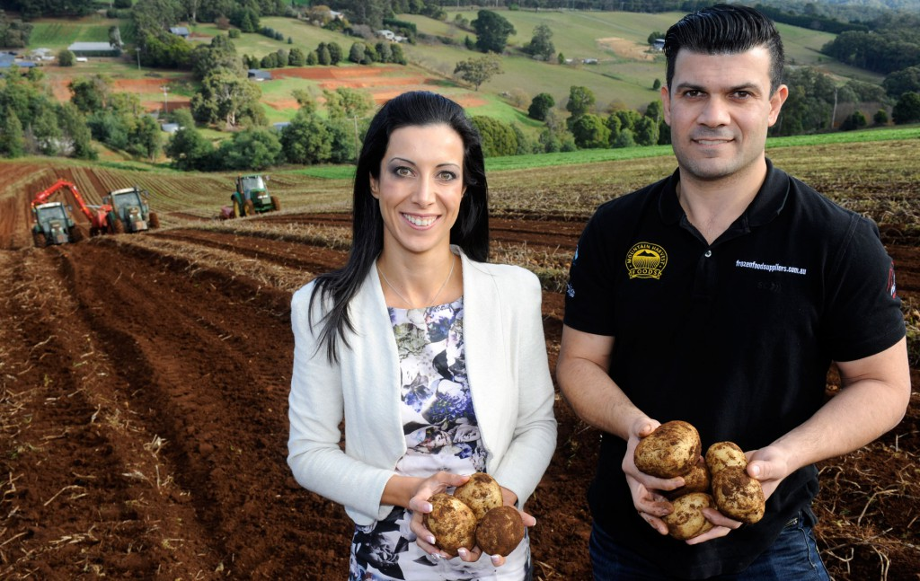 Christina de Sousa and Anthony Failia, Mountain Harvest Foods