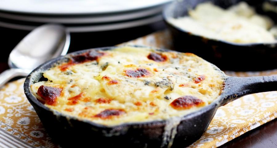 One of our favourite potato recipes – Potatoes au Gratin